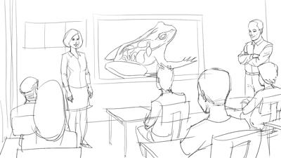 Story Board Sketch